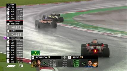 Sainz passa Ricciardo e sobe para sexto no GP da Turquia