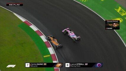 Sainz passa Stroll no GP da Turquia