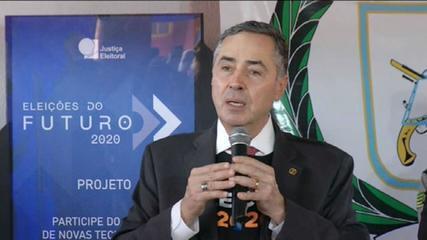 Ministro Barroso pede aos eleitores que insistam no app e-Título