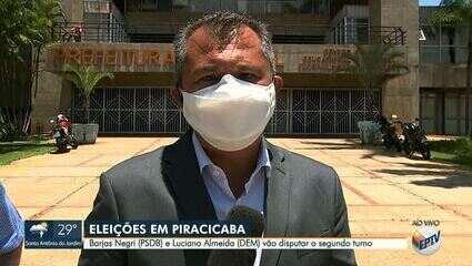 Barjas Negri, do PSDB, e Luciano Almeida, do DEM vão disputar o 2º turno em Piracicaba