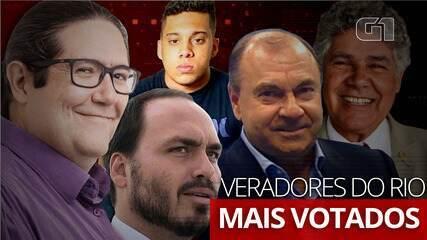 Conheça os 5 vereadores mais bem votados no Rio de Janeiro