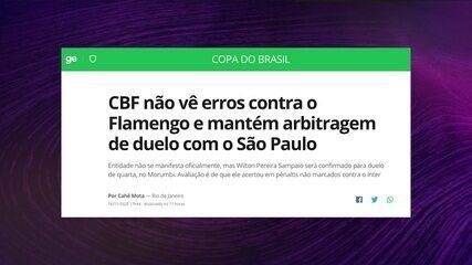 PVC diz que a CBF mostrou ao São Paulo que a arbitragem acertou ao validar o gol de David, no jogo contra o Fortaleza