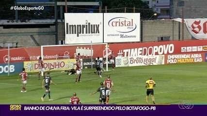 Vila Nova perde para o Botafogo-PB em casa