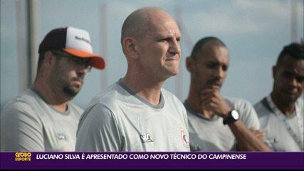 Luciano Silva é apresentado como novo técnico do Campinense