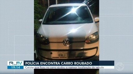 Carro roubado é encontrado através da localização do GPS de celular em Porto Real