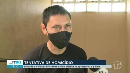 Suspeito de atirar em artista plástico em Santarém se apresenta à polícia