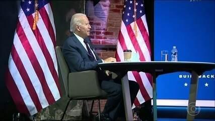Joe Biden anunciou hoje mais nomes que vão integrar o novo governo