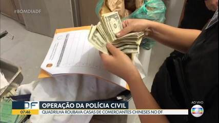 Operação da polícia civil do DF prende 3 pessoas em outros Estados