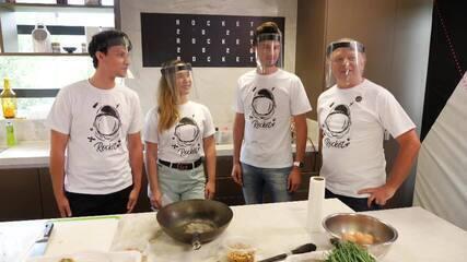Rocket Cidades Inteligentes #Episódio4: startups se reúnem para talk e dinâmica na cozinha