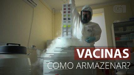 Entenda os desafios para o armazenamento das vacinas contra Covid que estão em teste