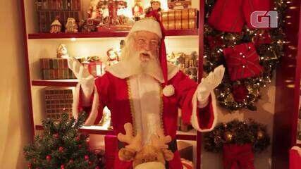 Papai Noel em home office: do Polo Norte, Bom Velhinho garante atender pedidos na pandemia