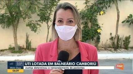 Maior hospital de Balneário Camboriú está com todos leitos de UTI ocupados