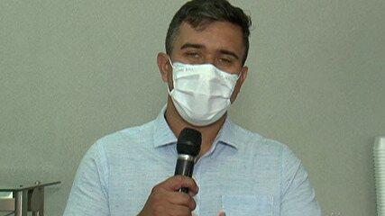 Candidato à Prefeitura de Mogi das Cruzes, Caio Cunha se reúne com vereadores eleitos
