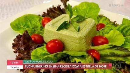 Tuca Bhering ensina receita de patê de manjericão