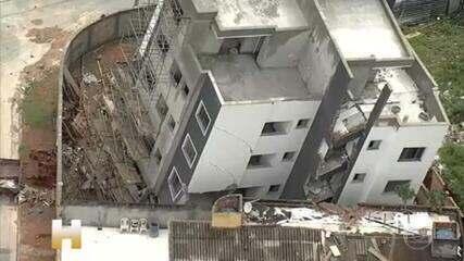Relembre reportagem de 21/11: 15 famílias esperam demolição do prédio de Betim para voltar para casa