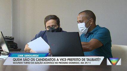 Conheça os candidatos a vice das chapas do 2 turno em Taubaté