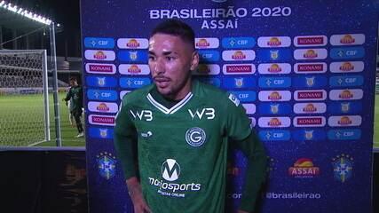 Miguel Figueira exalta a vitória do Goiás sobre o Palmeiras