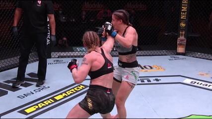 Melhores Momentos de Valentina Shevchenko x Jennifer Maia no UFC 255