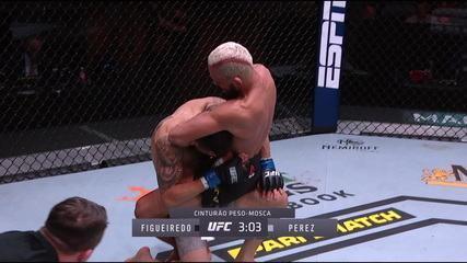 Melhores Momentos de Deiveson Figueiredo x Alex Perez no UFC 255