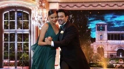 Lucy Ramos e Léo Santos se apresentam dançando 'Cheek to Cheek'