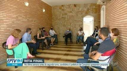 Candidatos a prefeito de Campinas encontram eleitores e ouvem reivindicações