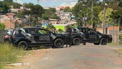 Homem morre e outro fica ferido em confronto com a polícia militar em Curitiba