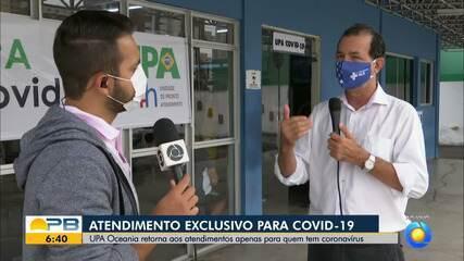 Upa Oceania retoma atendimentos exclusivos para casos de coronavírus