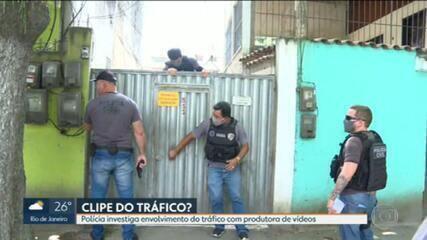 Polícia Civil investiga envolvimento do tráfico com produtora de videoclipes no Rio