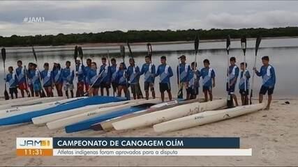 No AM, atletas indígenas participam de seletiva de canoagem olímpica