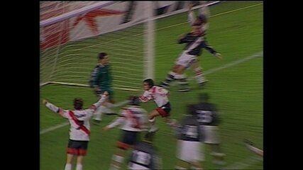 Os gols de River Plate 1 x 1 Vasco pela Libertadores de 1998