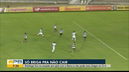 Botafogo-PB 0 x 0 Remo, pela rodada #16 da Série C