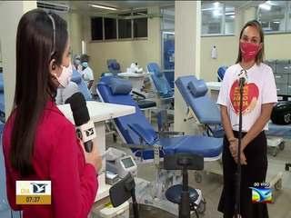 Hemomar inicia Semana Nacional do Doador de Sangue em São Luís