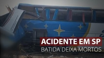 VÍDEO: Acidente provoca mortes em rodovia no interior de SP