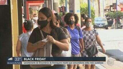 Levantamento do Sincomércio de Araraquara mostra que consumidores estão mais cautelosos