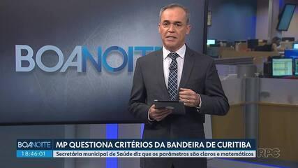 Ministério Público questiona critérios de definição da bandeira de restrições em Curitiba