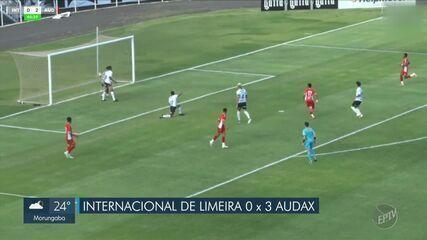 Inter de Limeira é derrotada pelo Audax-SP e está fora da Copa Paulista