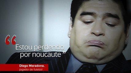 Veja frases marcantes de Diego Maradona