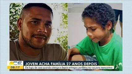 Homem encontra família 27 anos depois de fugir de casa