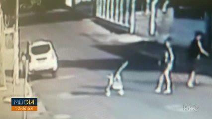 MP pede punição para mãe que arremessou carrinho com bebê, em Santo Antônio da Platina