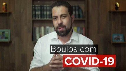 Em vídeo nas redes sociais, Guilherme Boulos anuncia que está com Covid-19