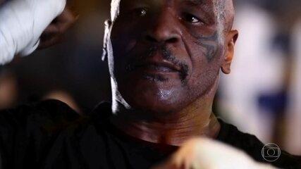 Mike Tyson de volta aos ringues