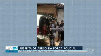OAB acompanha suspeita de abuso policial durante abordagem a mulher em São Luís