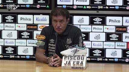 Confira a coletiva de Cuca, após vitória do Santos em cima do Sport