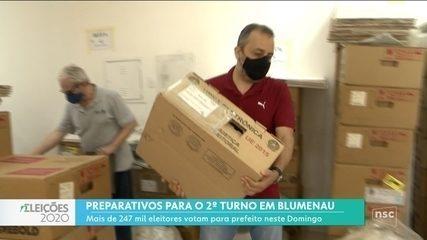 Mais de 200 mil pessoas podem votar em Blumenau