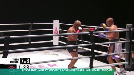 Aos 54 anos, Mike Tyson volta aos ringues para uma luta de exibição