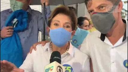 Professora Elizabeth (PSD) é a primeira mulher eleita prefeita de Ponta Grossa