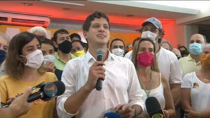 'Não tem como vir aqui hoje e não falar do meu pai Eduardo Campos', afirma João Campos