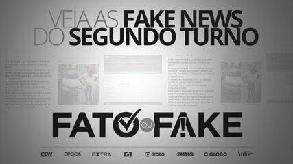 Veja as fake news do segundo turno das Eleições 2020