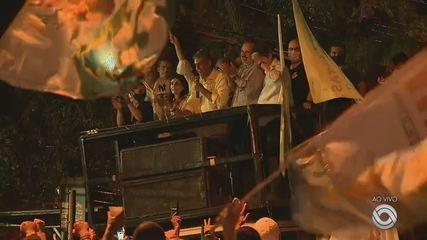 Sebastião Melo, prefeito eleito de Porto Alegre, faz discurso de agradecimento