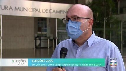 Dário Saadi venceu as eleições em Campinas